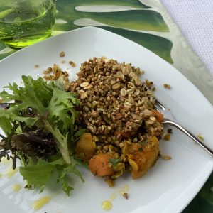 Spiced Root Vegetable with Buckwheat